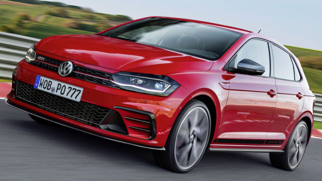 video vw polo gti clubsport 2019. Black Bedroom Furniture Sets. Home Design Ideas