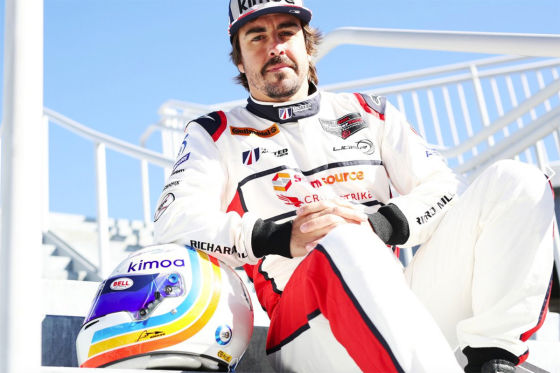 Alonsos Sportwagen-Premiere