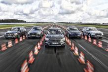 Fünf Mittelklasse-SUVs mit Diesel und Allrad: Test