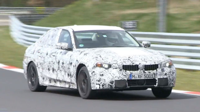 Hier fährt der neue 3er BMW