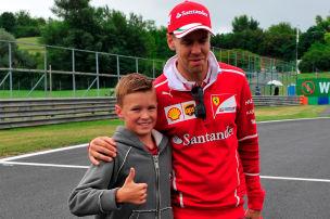 Grid Kids für die Formel-1-Stars