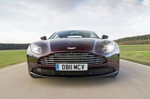 Aston Martin DB11 V8: Test