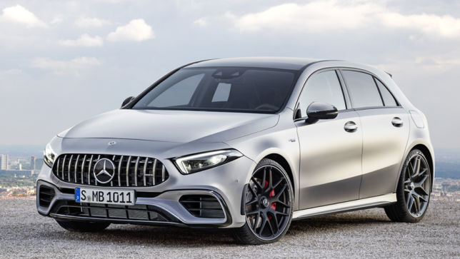 Video Mercedes Amg A 45 2018 Autobild De