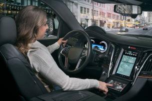 Bosch: Ausblick auf digitales Cockpit