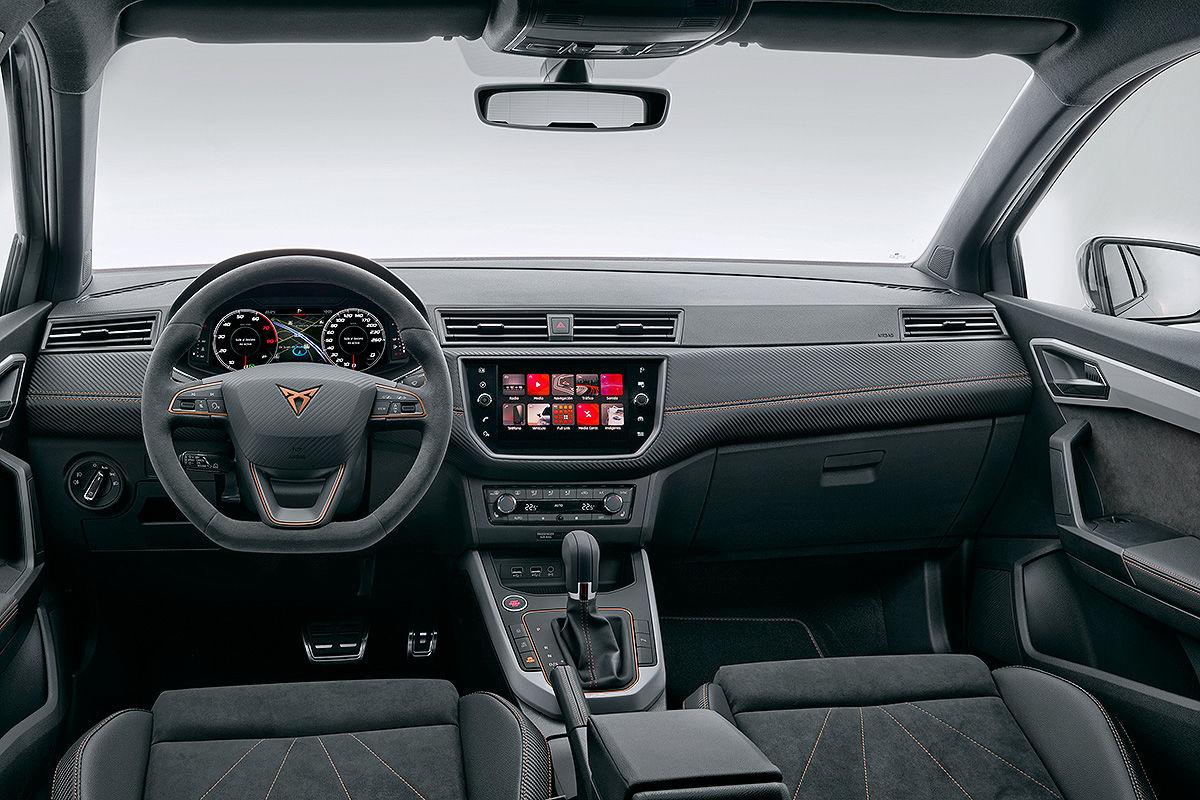 Cupra ibiza 2018 test und infos bilder for Seat ibiza innenraum
