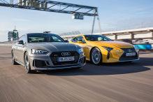 Audi RS 5/Lexus LC 500: Test