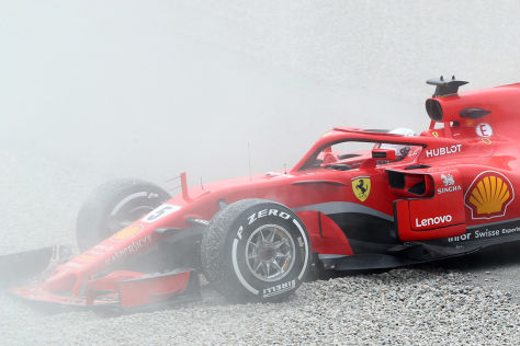 Vettel: Dreher und trügerische Bestzeit