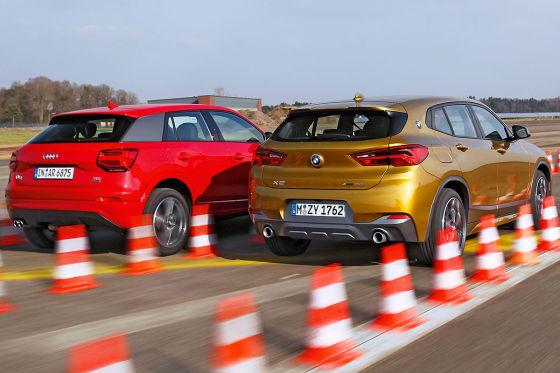 Audi Q2 BMW X2