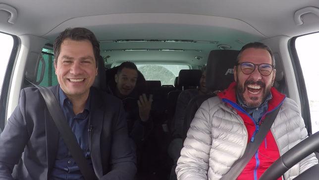 Im Auto mit Oliver Gimber