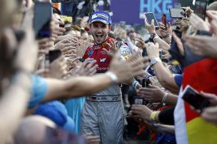 Der erste deutsche Formel-E-Sieger