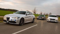 Alfa Giulia/Opel Insignia/ VW Arteon: Test