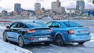 Hyundai i30 Fastback/Skoda Octavia: Test