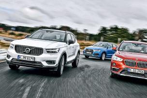 Volvo XC40/Audi Q3/BMW X1: SUVs im Test