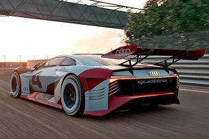 Audi-Studie wird Renn-Taxi