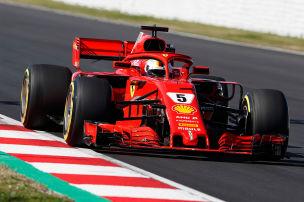 Formel 1: Vettel vorm Saisonstart