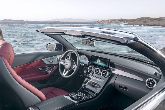 Facelift für C-Klasse Coupé und Cabrio