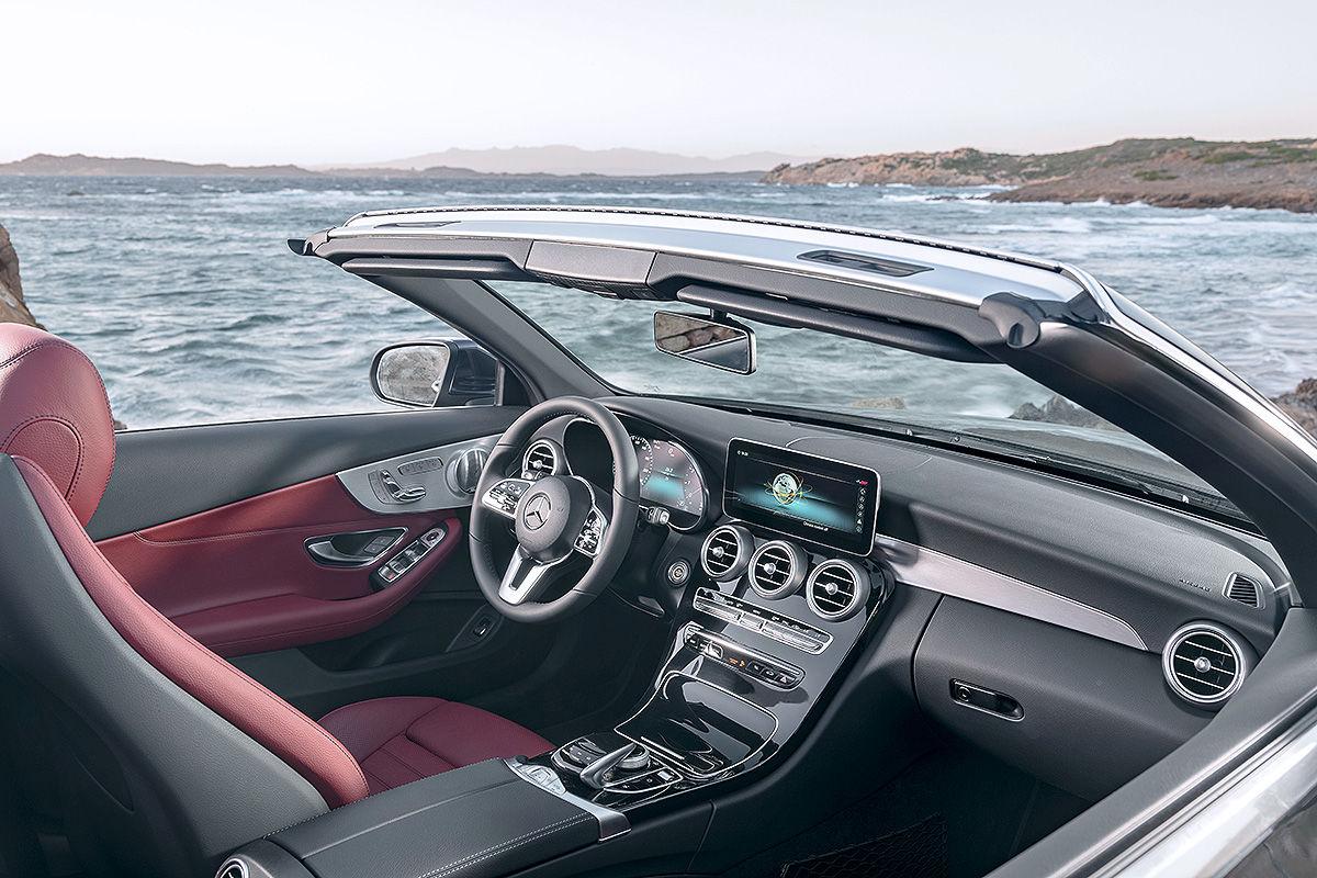 mercedes c klasse coup cabrio facelift 2018 alle infos. Black Bedroom Furniture Sets. Home Design Ideas