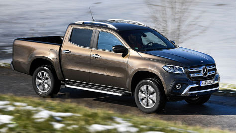Mercedes X-Klasse: Der Pick-up als X 250 d im Test
