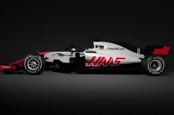 Formel-1-Autos 2018