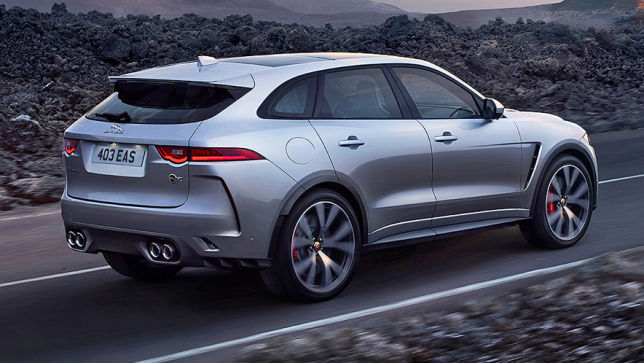 Video Jaguar F Pace Svr 2018 Autobild De