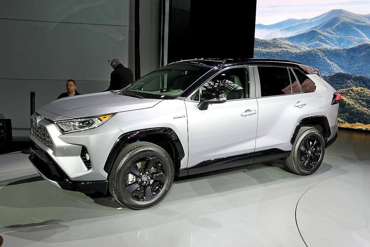 Toyota Rav4 2018 Hybrid Motor Infos Bilder