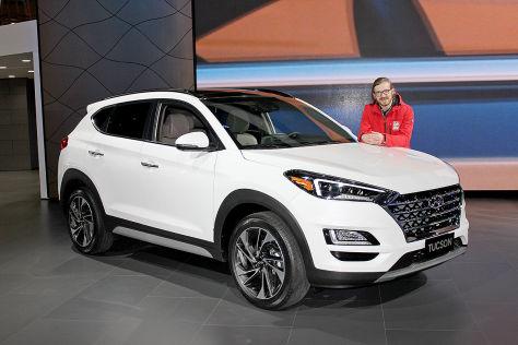Hyundai Tucson Facelift 2018 Test Motor Preis
