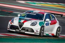 350 PS für den italienischen Tourenwagen