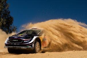Rallye Mexiko: Loeb mit Reifenschaden