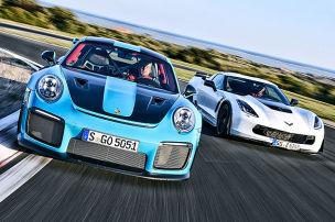Corvette will 911er ans Blech!