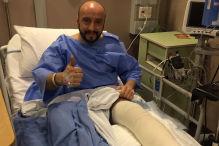 Verletzter Mechaniker erfolgreich operiert