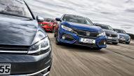 Fiat Tipo/Honda Civic/Hyundai i30/Renault Mégane/VW Golf: Test