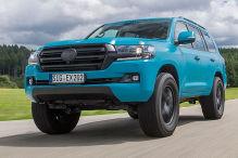 Toyota Land Cruiser V8 von Extrem: Fahrbericht