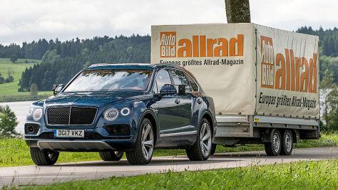Bentley Bentayga Diesel: Zugfahrzeug-Test