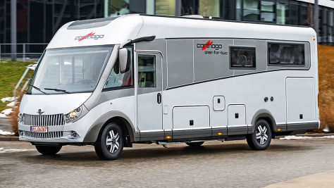 Carthago liner-for-two: Wohnmobil-Test