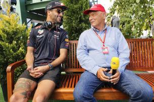 Baggert Mercedes jetzt Ricciardo an?