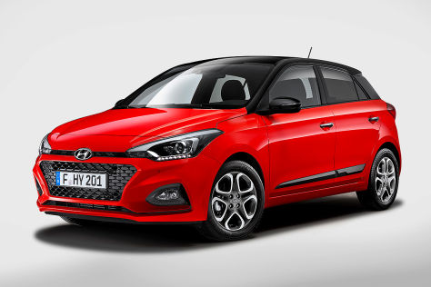 hyundai i20 facelift 2018 motoren marktstart preis. Black Bedroom Furniture Sets. Home Design Ideas