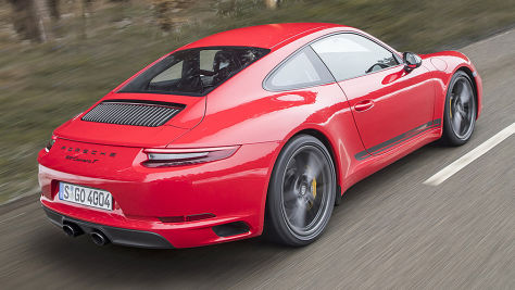 Porsche 911 Carrera T: Test