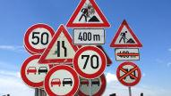 Worauf weist dieses Verkehrszeichen hin?