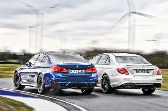 BMW M5 Mercedes-AMG E 63 S