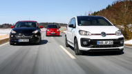 Opel Adam S/Smart forfour Brabus/VW Up GTI: Test
