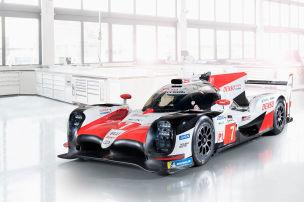 WEC: Der neue Toyota TS050