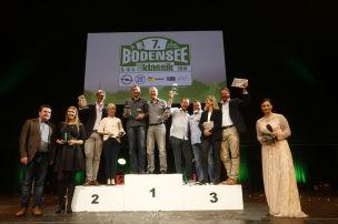 Bodensee-Klassik 2018: Siegerehrung