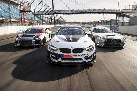 GT4-Vergleich: Audi, Mercedes und BMW