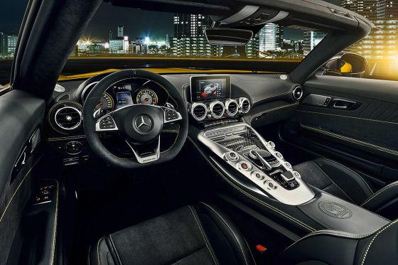 Das ist die neue offene Variante des AMG-GT