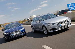 Erdgas oder Benziner: Vier Autopaare im Test