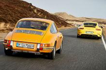 Porsche 911 T trifft seinen Urahnen: Fahrbericht
