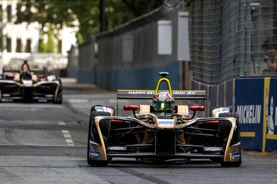 Jean-Eric Vergne Formel E Bolide