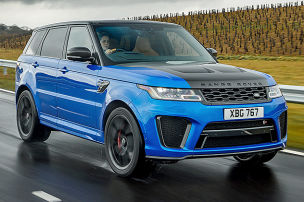 Power-SUV im Pisten-Test