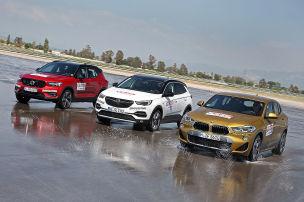 BMW X2/Opel Grandland X/Volvo XC40: Diesel-SUVs im Test