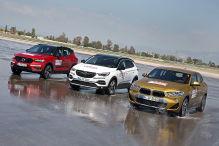 BMW X2/Opel Grandland X/Volvo XC40: Test